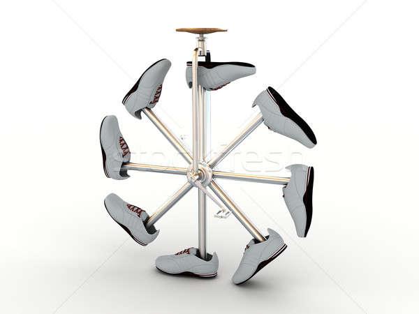 Ruota velocità ciclismo cerchio Foto d'archivio © anyunoff