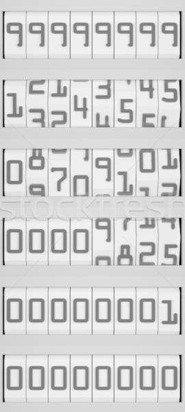 Conto alla rovescia segno calendario evento movimento concetto Foto d'archivio © anyunoff