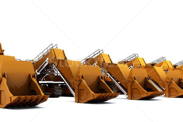 Diggers Stock photo © anyunoff