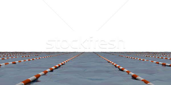Natación camino 3d fitness espacio piscina Foto stock © anyunoff