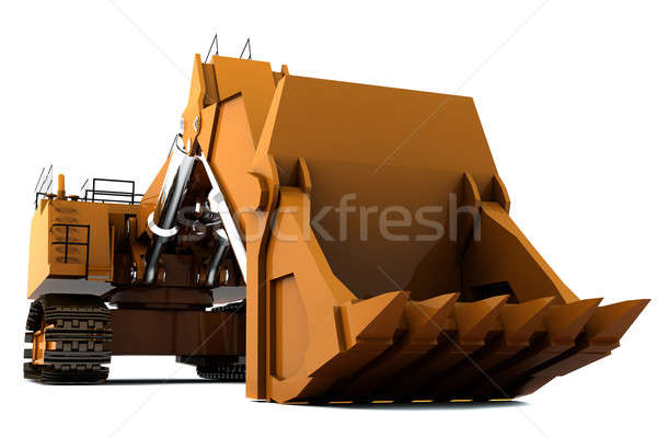 Digger Stock photo © anyunoff
