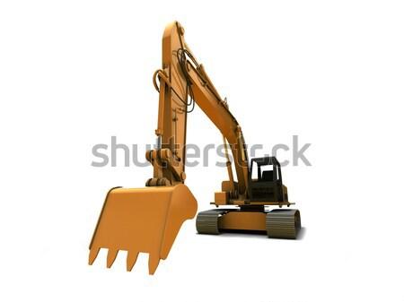 Digger Stock photo © anyunoff