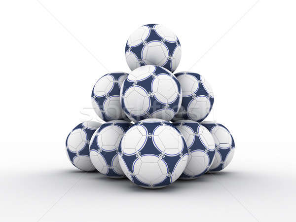 Calcio mondo terra palla pianeta Foto d'archivio © anyunoff