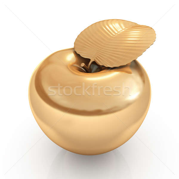 golden apple Stock photo © AptTone