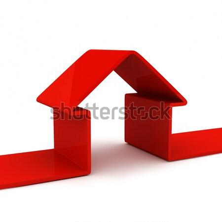 abstract house Stock photo © AptTone