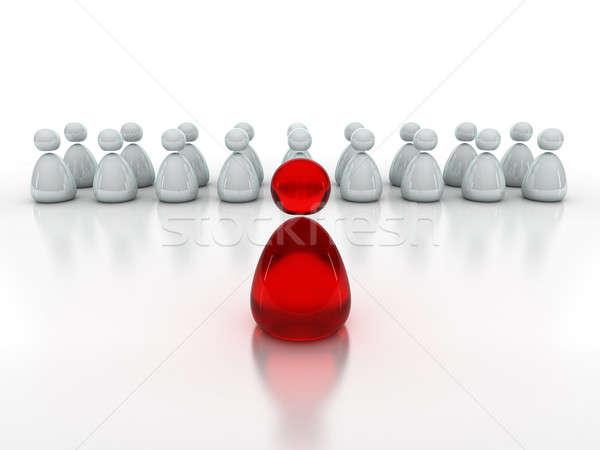 Affaires équipe isolé blanche résumé Photo stock © AptTone
