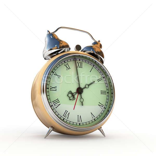 vintage alarm clock Stock photo © AptTone