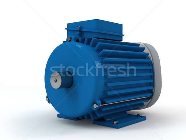 three-phase asynchronous electric motor Stock photo © AptTone