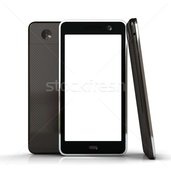 Touchscreen smart phone Stock photo © AptTone