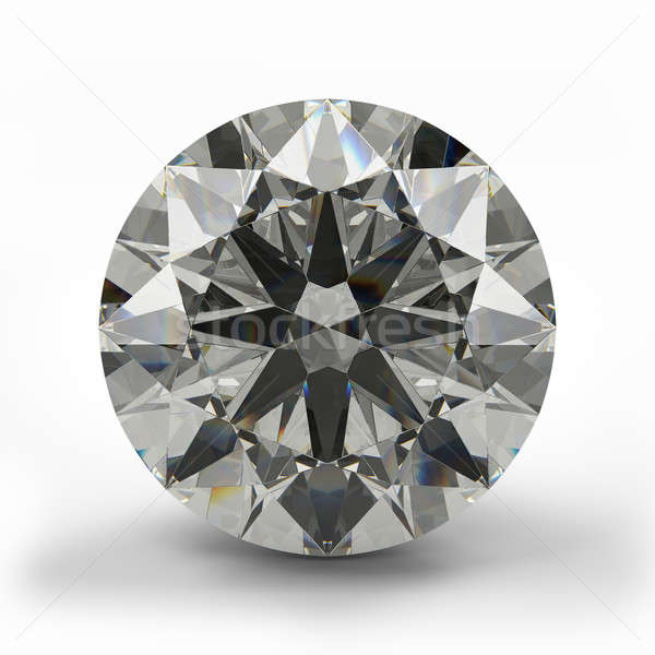 Top view of round diamond. Stock photo © AptTone