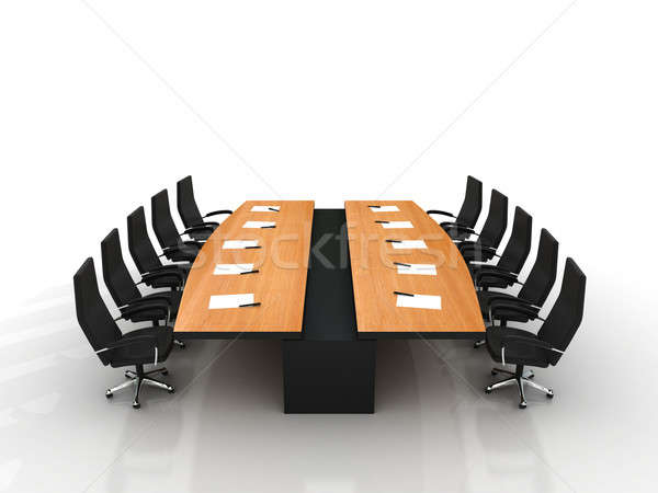 conference table Stock photo © AptTone