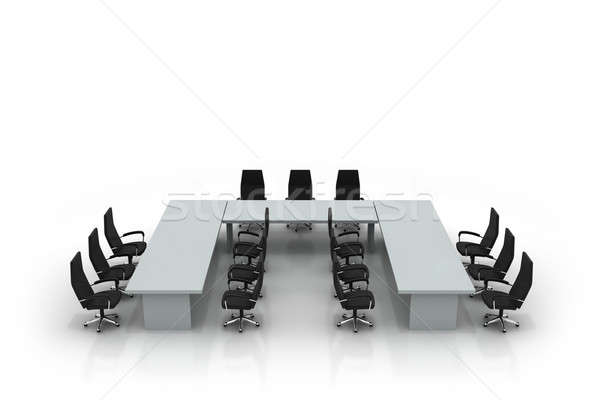 conference table and chairs Stock photo © AptTone