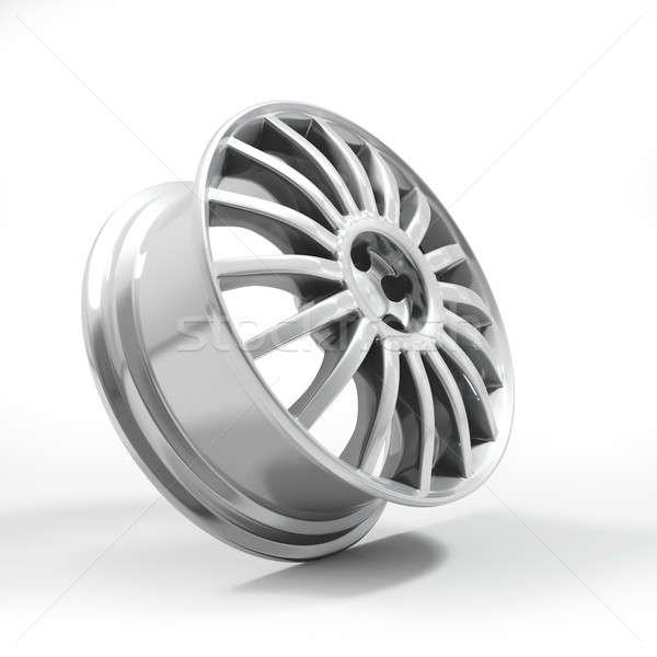 Foto stock: Aluminio · aleación · coche · rueda