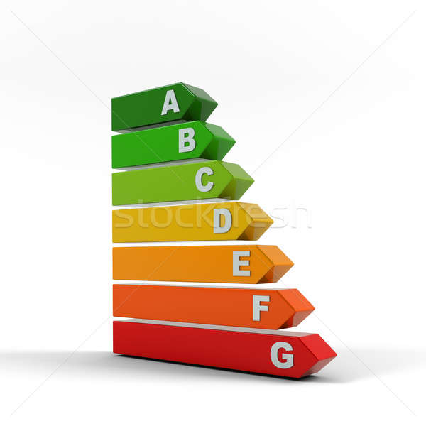 Energy efficiency rating. Stock photo © AptTone