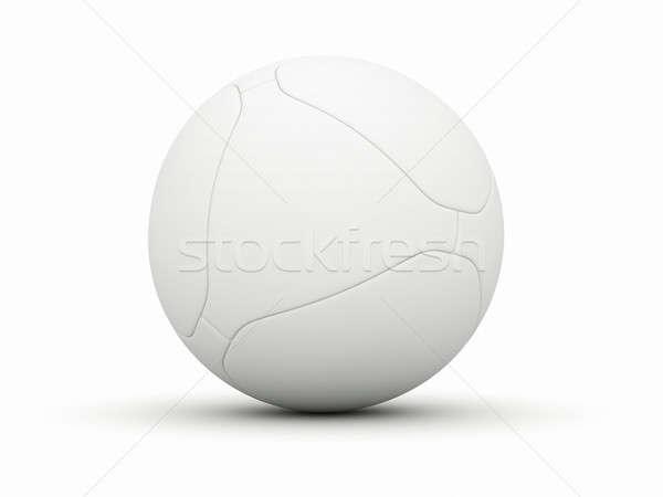 Soccer ball calcio bianco palla isolato sport Foto d'archivio © AptTone