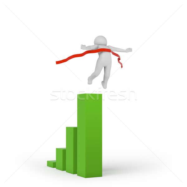 3 ª persona línea alto calidad 3d Foto stock © AptTone
