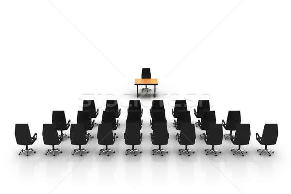 Stylisé photo vide salle de conférence élevé qualité Photo stock © AptTone