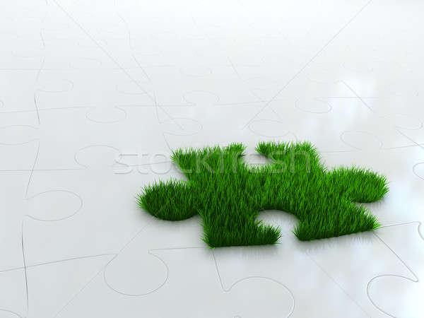 Pièce nature herbe verte herbe résumé Photo stock © AptTone