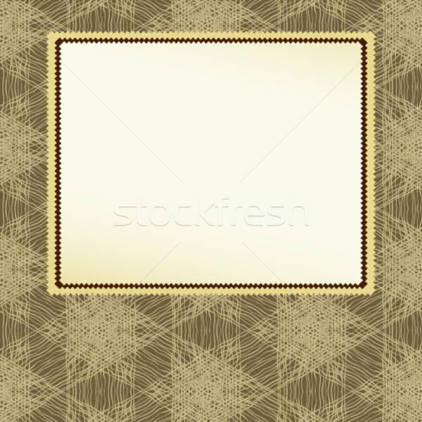 Quadro ilustração útil estilista trabalhar branco Foto stock © Aqua