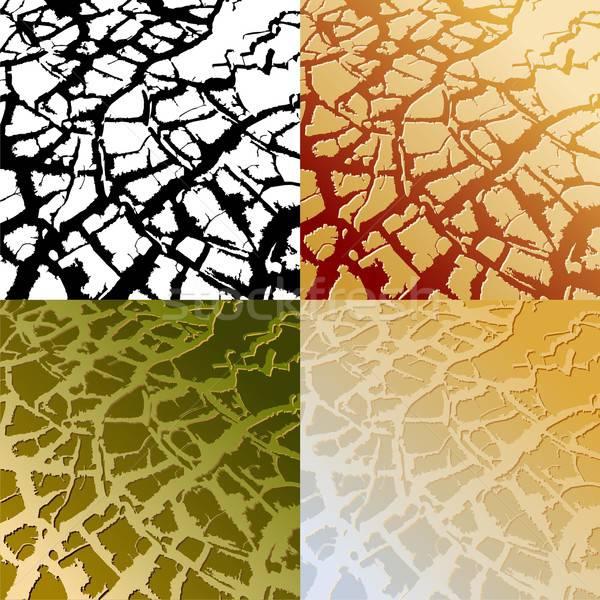 Illustrazione utile designer lavoro pattern rotto Foto d'archivio © Aqua