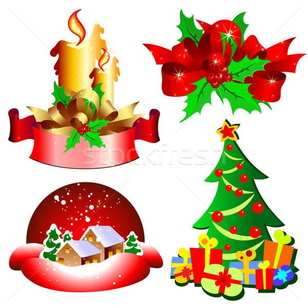 Noël décoration illustration utile designer travaux Photo stock © Aqua