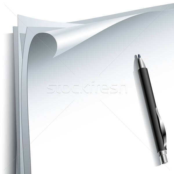 pencil background Stock photo © Aqua