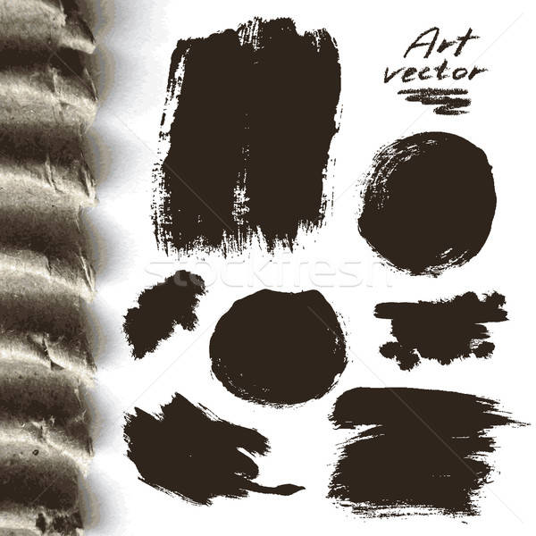 Art résumé peinture fond Photo stock © Aqua