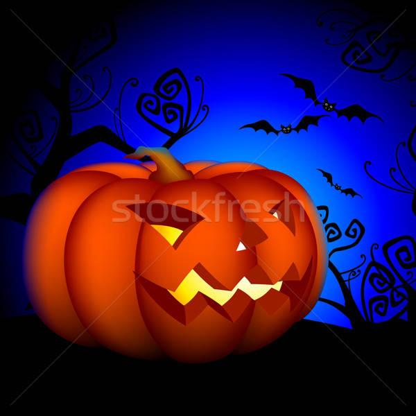 Halloween illustratie nuttig ontwerper werk hemel Stockfoto © Aqua