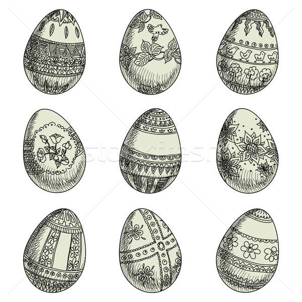 Easter Eggs Stock photo © Aqua