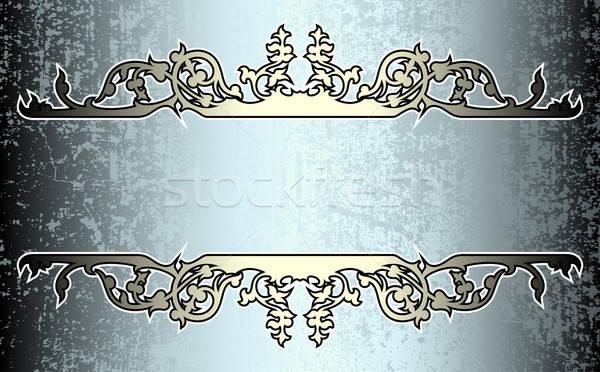 Dekoratif örnek yararlı tasarımcı çalışmak çiçek Stok fotoğraf © Aqua