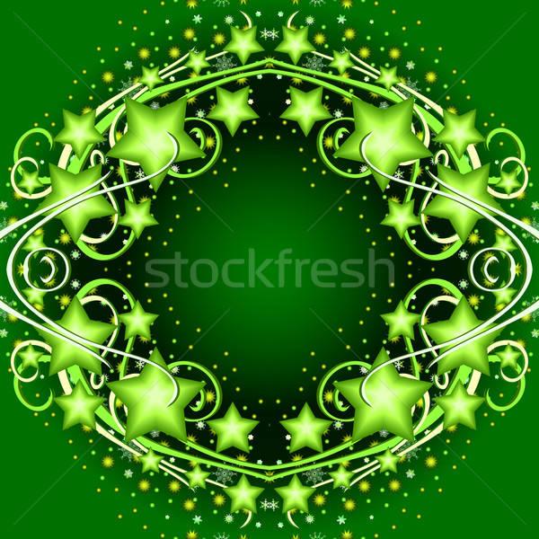 background green Stock photo © Aqua