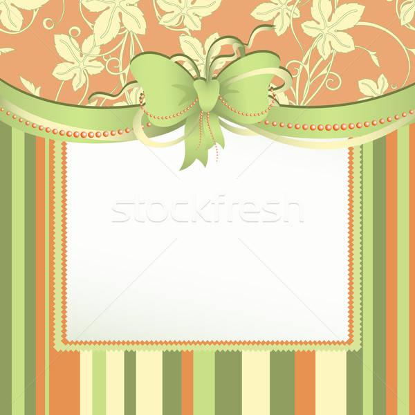 Membro arco ilustração útil estilista trabalhar Foto stock © Aqua