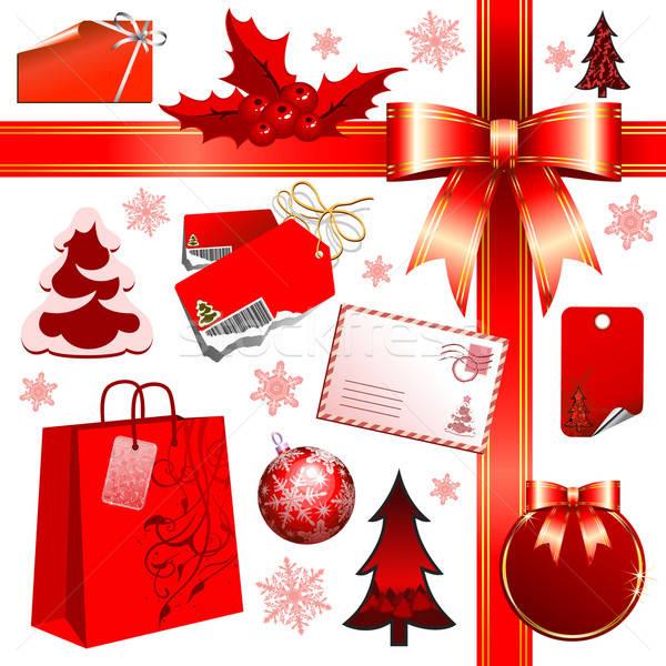 Noël illustration utile designer travaux Photo stock © Aqua