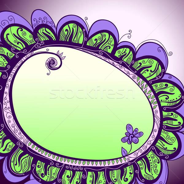 Abstract floreale illustrazione utile designer lavoro Foto d'archivio © Aqua