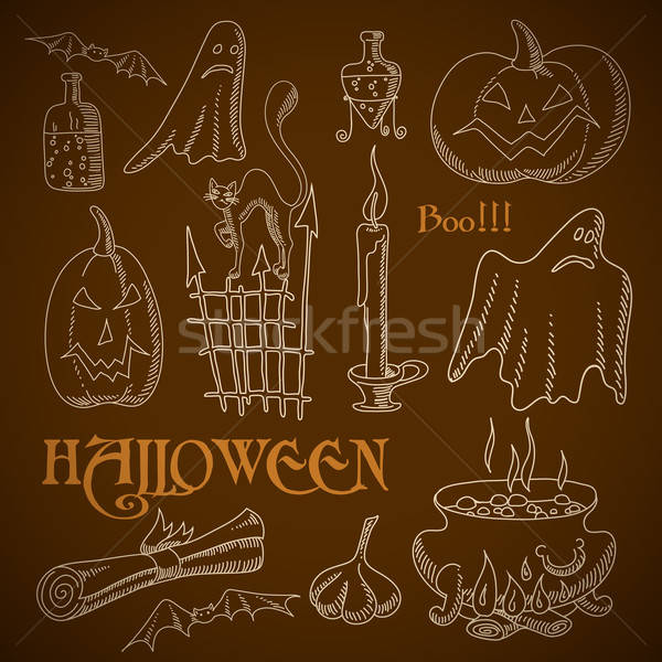 Halloween background Stock photo © Aqua