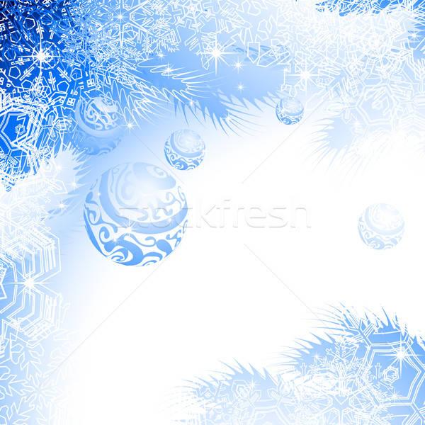 Natale illustrazione utile designer lavoro texture Foto d'archivio © Aqua