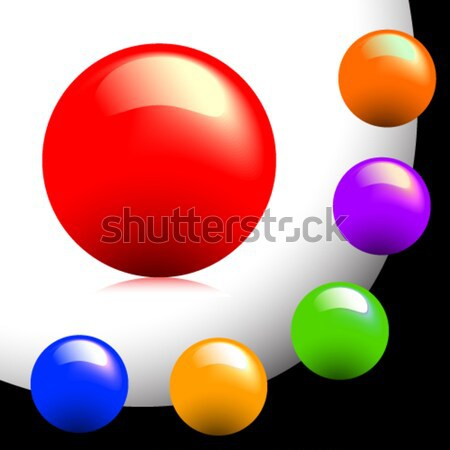 buttons coloured Stock photo © Aqua