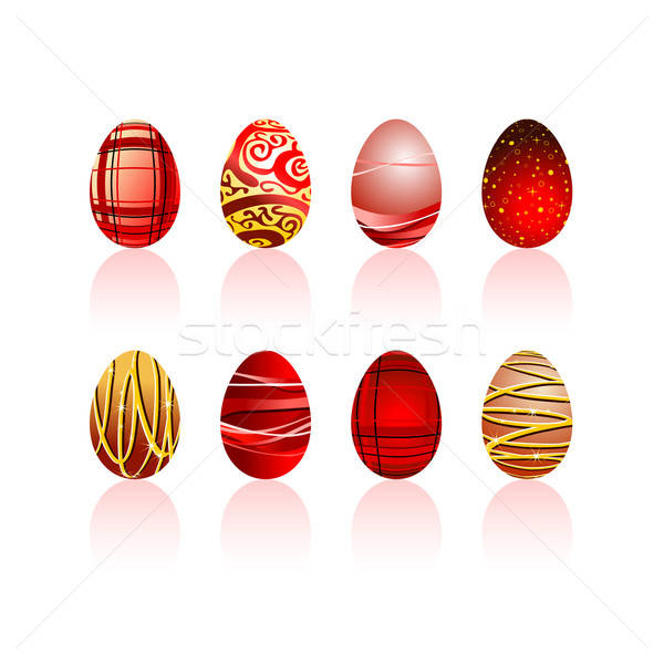 œufs de Pâques illustration utile designer travaux Pâques Photo stock © Aqua