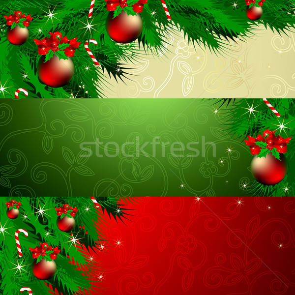 banner christmas Stock photo © Aqua