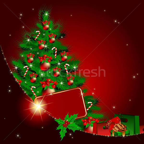 クリスマス 実例 便利 デザイナー 作業 ストックフォト © Aqua