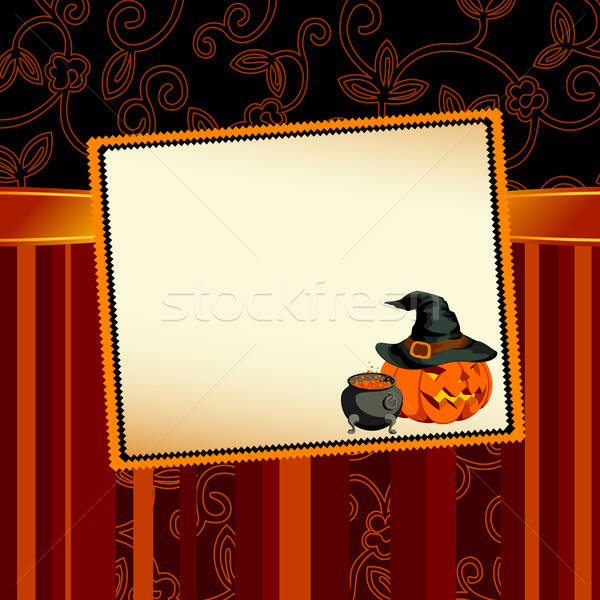 Halloween ilustração útil estilista trabalhar abstrato Foto stock © Aqua