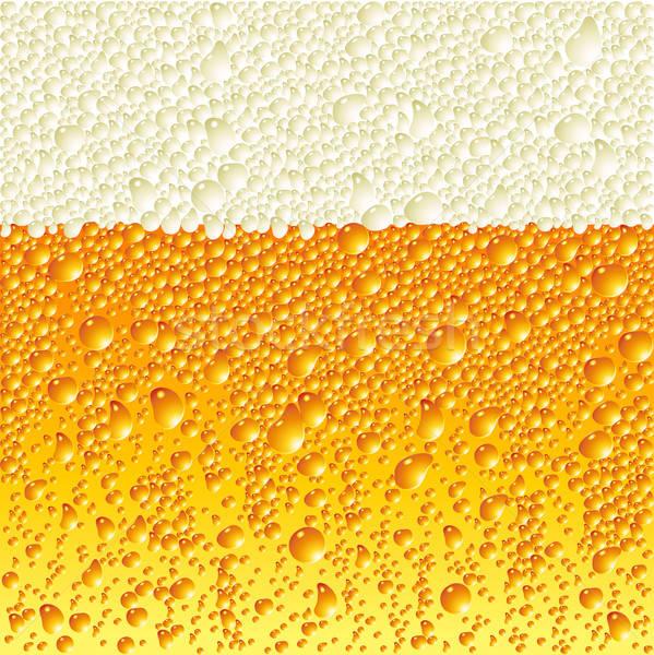 Bier illustratie nuttig ontwerper werk water Stockfoto © Aqua