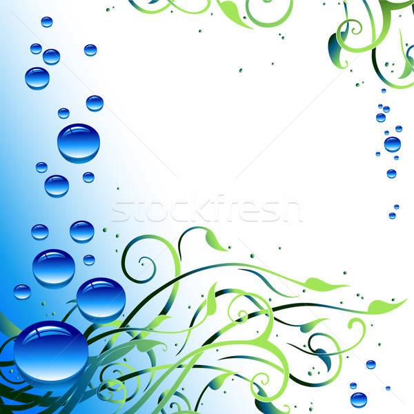 Gocce illustrazione utile designer lavoro acqua Foto d'archivio © Aqua