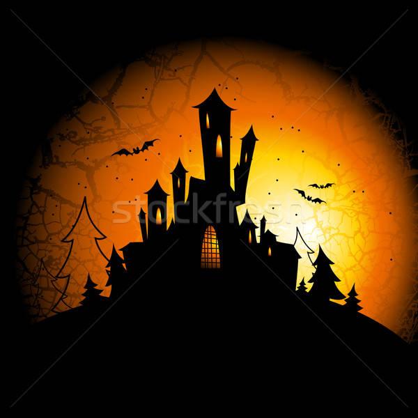 Halloween illustratie nuttig ontwerper werk achtergrond Stockfoto © Aqua