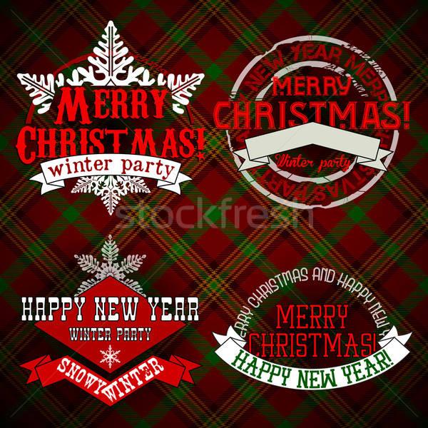 Noël design illustration peuvent utilisé art Photo stock © Aqua