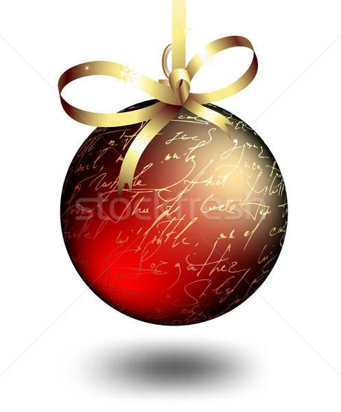 Natal decoração ilustração útil estilista trabalhar Foto stock © Aqua