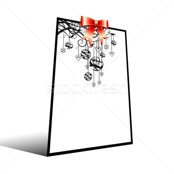 Foto stock: Natal · ilustração · útil · estilista · trabalhar · projeto