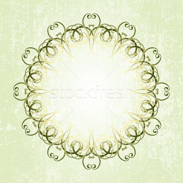 Dekorativ Illustration nützlich Designer Arbeit Blume Stock foto © Aqua