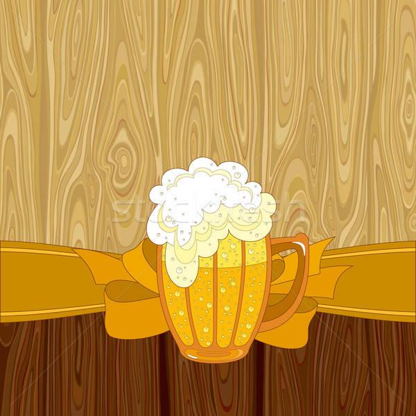 Bière illustration utile designer travaux lumière Photo stock © Aqua