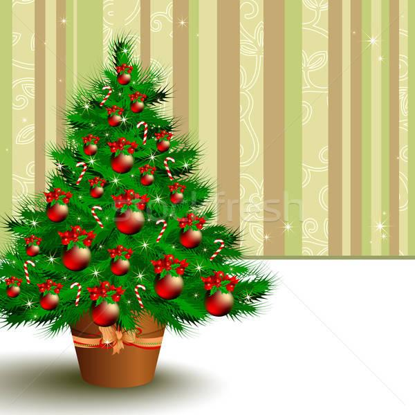 クリスマス 実例 便利 デザイナー 作業 壁 ストックフォト © Aqua